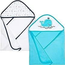 Gerber 2-Piece Hooded Bath Towel, Whale, 26