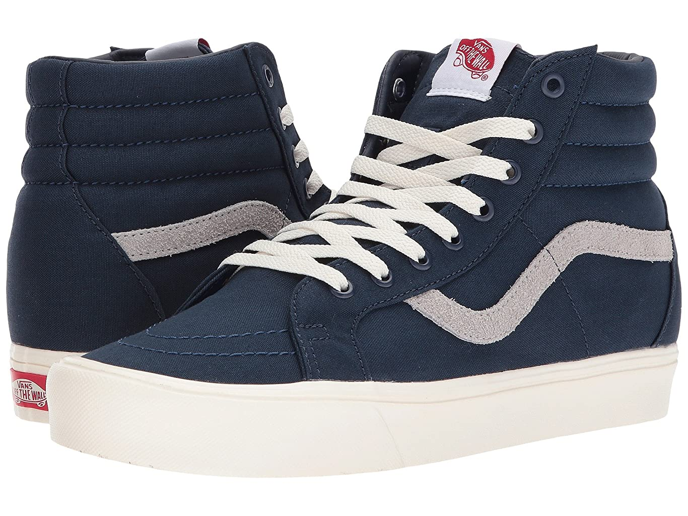 読む沼地恐ろしい(バンズ) VANS メンズスニーカー?靴 SK8-Hi Reissue Lite (Canvas) Dress Blues/Drizzle/Marshmallow Men's 8, Women's 9.5 (26cm(レディース26.5cm)) Medium