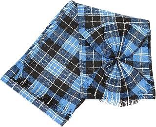 Kilts Wi Hae Scottish 100% Wool Tartan Ladies Mini Sash with Rosette - Clark