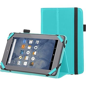 "AmazonBasics Kindle Fire Standing Case, 7"" (2015 Model), Turquoise"