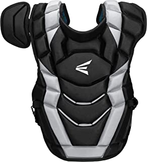 EASTON ELITE X Baseball Catchers Chest Protector | 2020 | Stacked AB Memory Foam For Rebound Control + EVAIR Foam | 4 Point Strap System for Superior Fit + Comfort | NOCSAE Commotio Cordis Foam