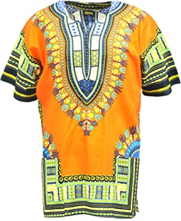 Dashiki Shirt Tribal African Caftan Boho Unisex Top Shirt