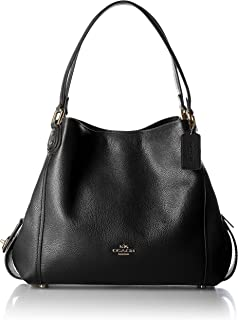 COACH Women's Refined Pebble Leather Edie 31 Shoulder Bag