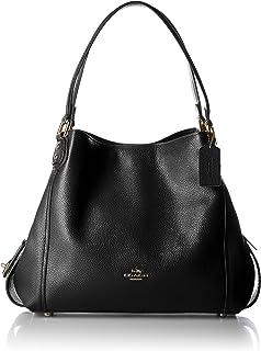 COACH Women's Pebbled Leather Edie 31 Shoulder Bag