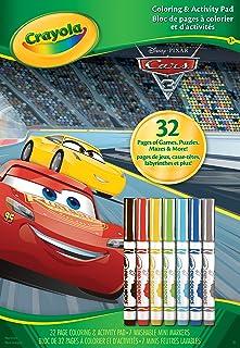 Crayola - 04-0127-0-000 - Cars 3 colouring/activities book