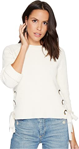 Bishop + Young - Side Lace-Up Pullover