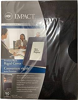 GBC2001891 - GBC Premium Rigid Plastic Report Cover Set With