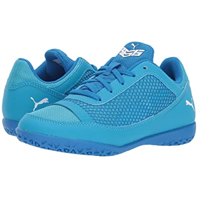 Puma Kids 365 Netfit CT Soccer (Little Kid/Big Kid) (Electric Blue Lemonade/Puma White/Hawaiian Ocean) Kids Shoes