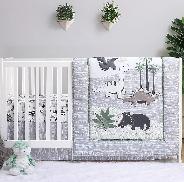 The Peanutshell quality assurance Ranking TOP18 Dinosaur Crib Bedding Sets Boys Nu Piece 3 for