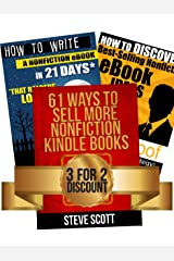 Kindle Publishing Package: How to Discover Best-Selling eBook Ideas + How to Write a Nonfiction eBook in 21 Days + 61 Ways to Sell More Nonfiction Kindle Books Kindle Edition