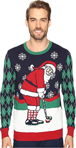 TravisMathew - Golfing Santa Sweater