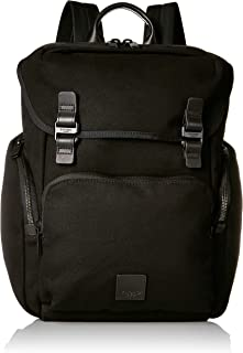 """Knomo Fulham Thurloe, 15"""" Water-Resistant Backpack, with Double Compartments, RFID Pocket and KNOMO ID, Black"""