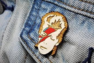 Star Man Lightning Bolt Pin