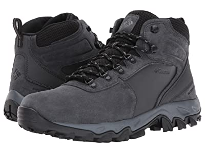 Columbia Newton Ridge Plus II Suede WP (Shark/Black) Men