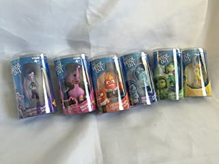 Disney/Pixar Inside Out 6 Piece Figure Set - Disgust, Fear, Sadness, Joy, Anger and Bing Bong