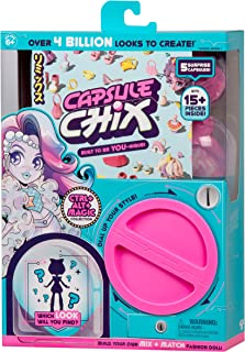 """Capsule Chix Ctrl+Alt+Magic Collection, 4.5"""" Doll with Capsule Machine Unboxing & Mix & Match Fashions & Accessories"""