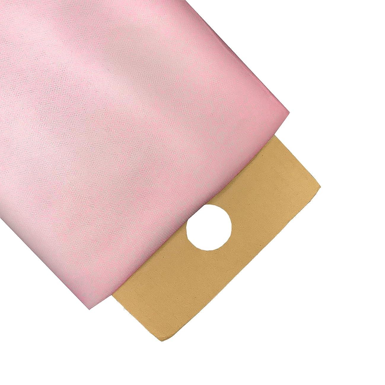 LA Linen 40-Yard Tulle Fabric Bolt, Light Pink, 54-Inch Wide