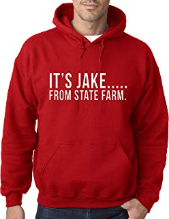 484 - Hoodie It's Jake From State Farm Commercial Ad Unisex Pullover Sweatshirt