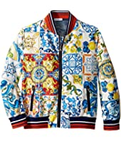 Dolce & Gabbana Kids - Nylon Maiolica Jacket (Big Kids)