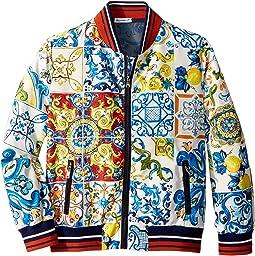Nylon Maiolica Jacket (Big Kids)