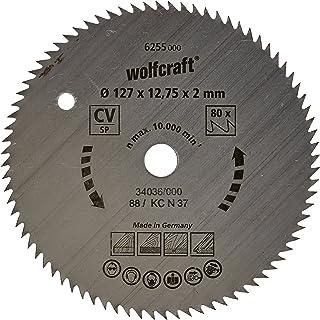 Wolfcraft cirkelsågsblad 127 x 12,75 80 tänder
