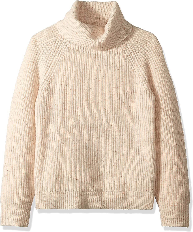 J.Crew Mercantile Womens Chunky Knit Turtleneck Sweater Sweater