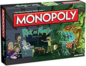 Monopoly Rick and Morty Board Game | Based on the hit Adult Swim series Rick & Morty | Offically Licensed Rick Morty Merch...