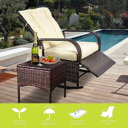 Indoor Rattan Wicker Chairs: Amazon.com