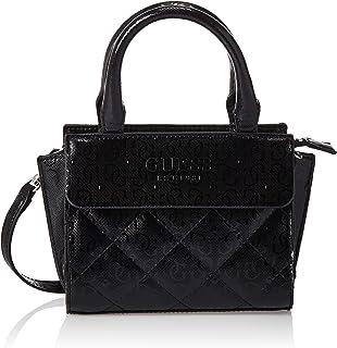 GUESS Womens Queenie Satchels Bag