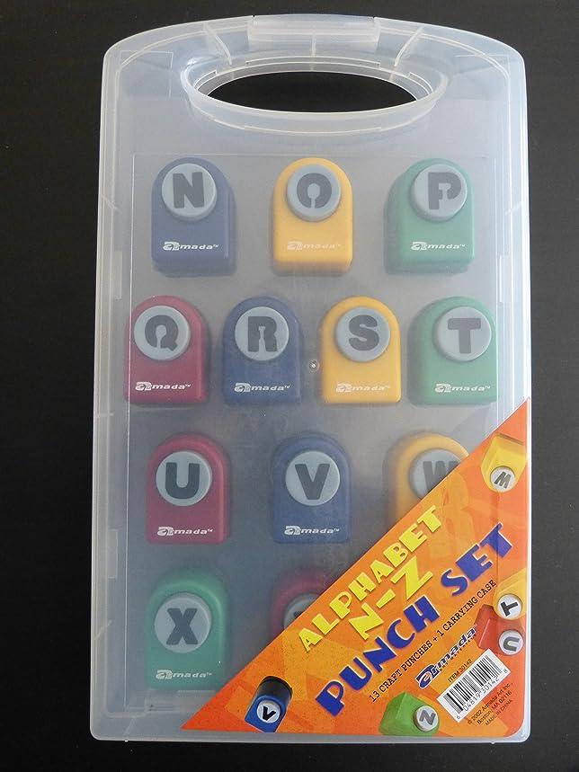 Alphabet N-Z Punch Set by Armada