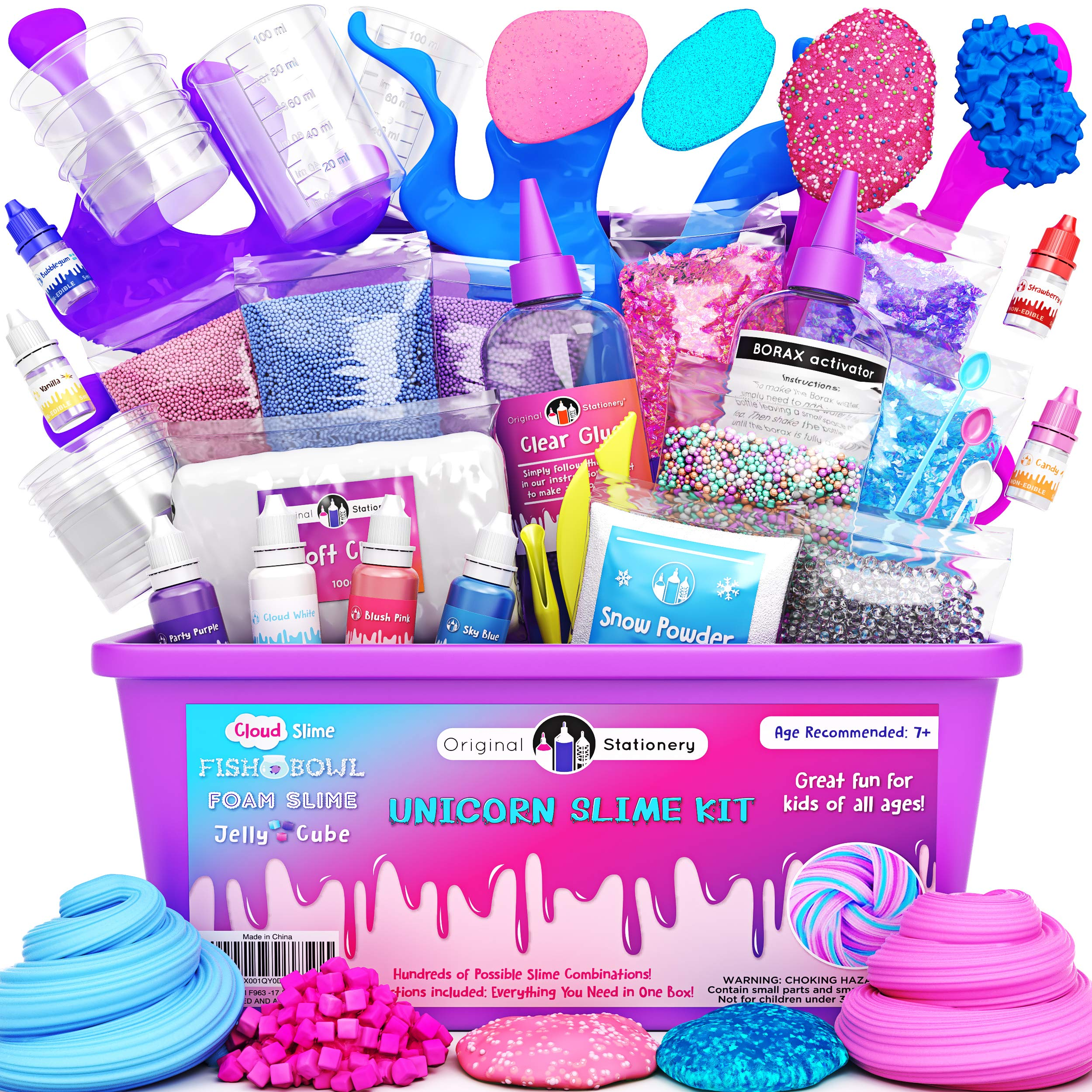 Original Stationery Slime Kit Unicornio Completo - Todo en una ...