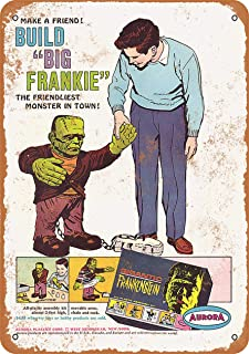 CoareL 1964 Gigantic Frankenstein Model Kit - Vintage Look 8
