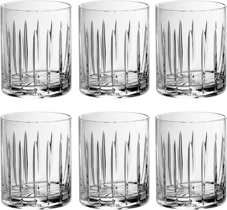 Tumbler Glass - Double Old Fashioned 6 Hand Glasses Set Seasonal Wrap Introduction Philadelphia Mall C of