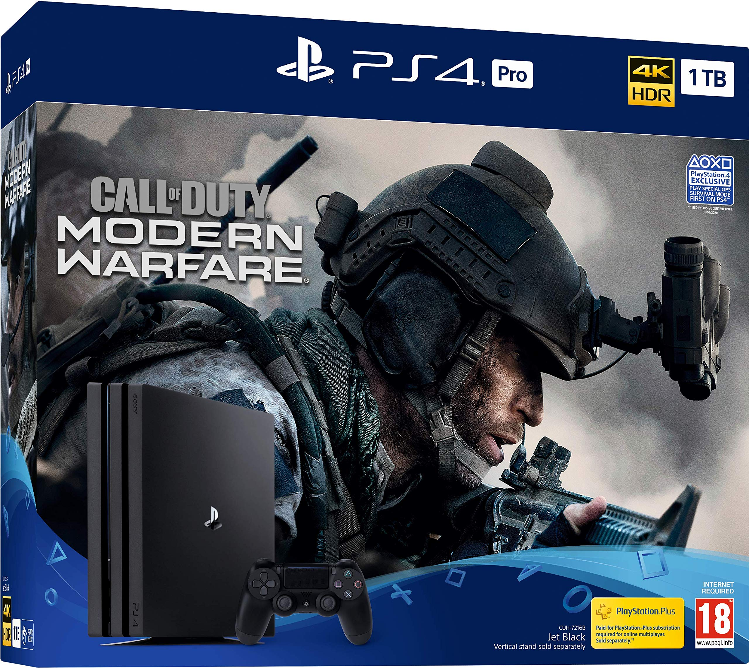 Call Of Duty: Modern Warfare PS4 Pro Bundle - PlayStation 4 ...