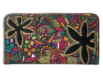 Sakroots Artist Circle Slim Wallet (Rainbow Spirit Desert) Wallet Handbags