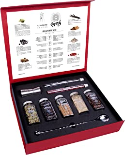 comprar comparacion Kit de Gin Tónic con Botánicos & Especias para Cócteles 200 GR - Cocktail Botanicals & Spices