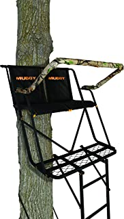 Muddy Side-Kick 2-Man Ladderstand, 16', Black