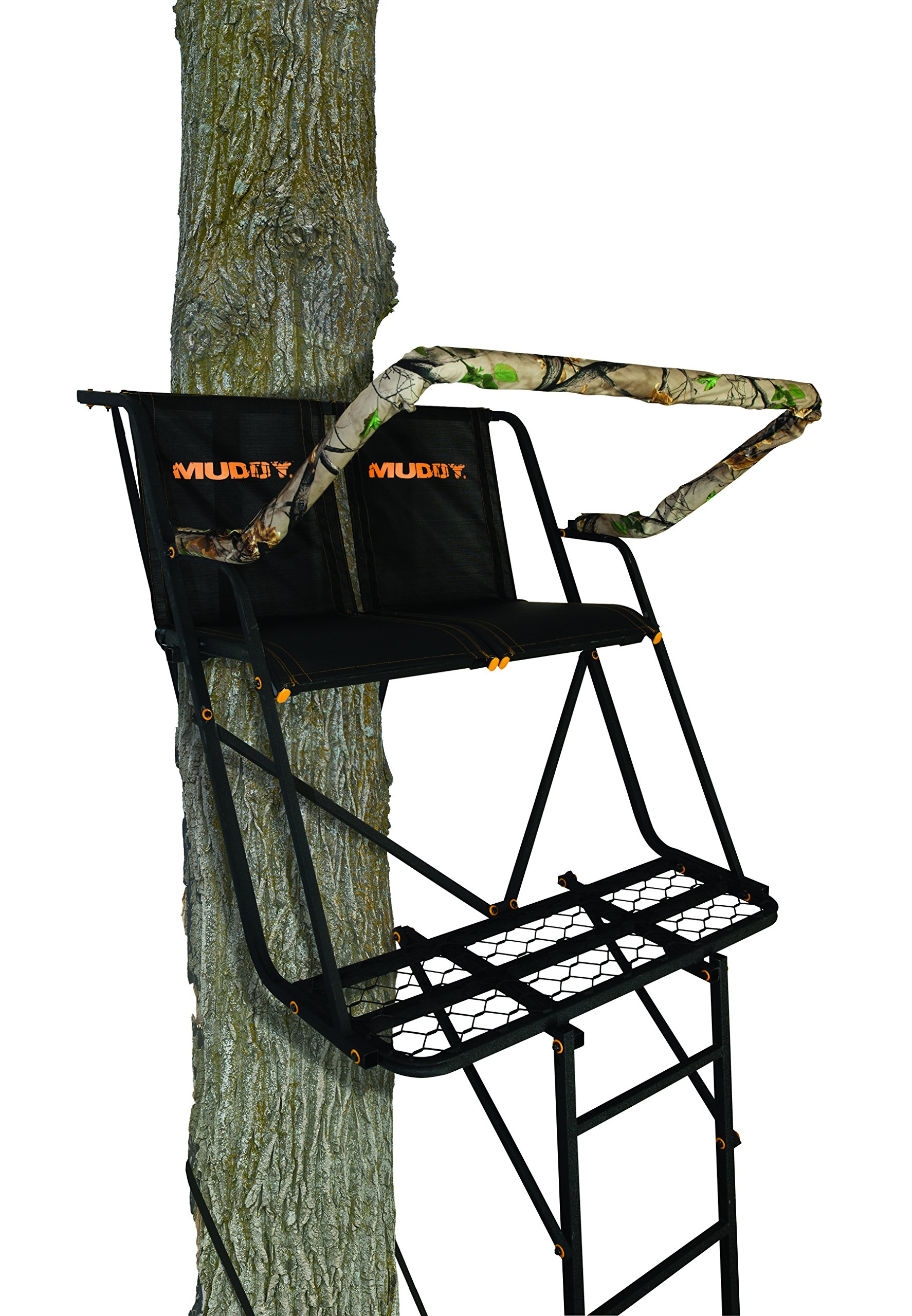 Muddy Side Kick 2 Man Ladderstand Black