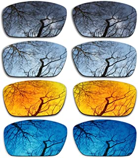 ToughAsNails Set of 4 Polarized Replacement Lenses for Oakley Fuel Cell Pack-BSFM4