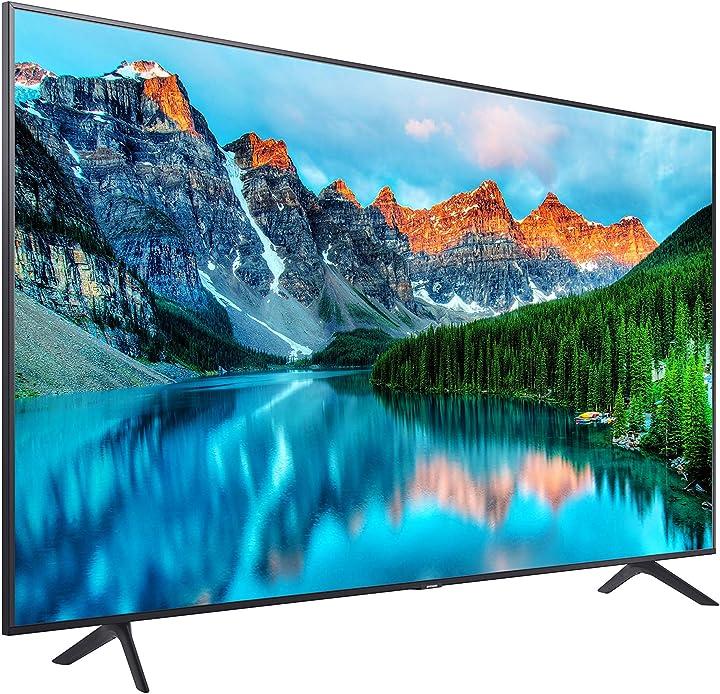 Tv da 50 pollici samsung , 4k uhd 3840×2160 pixel, dvb-t2cs2, wi-fi, nero LH50BETHLGUXEN
