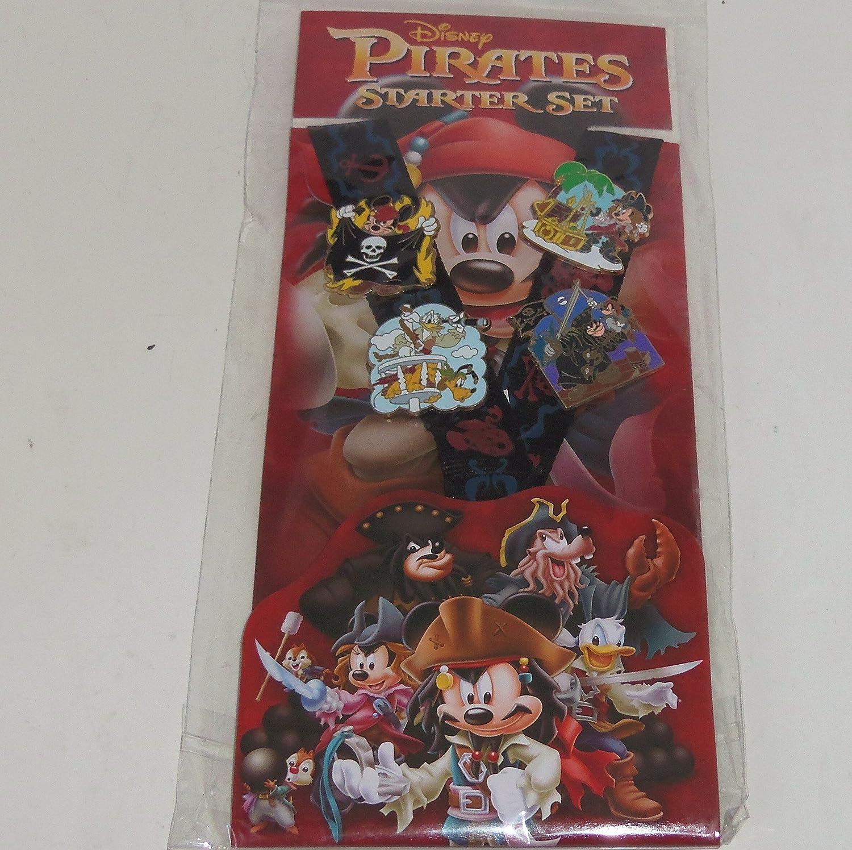 Disney Pins - Pirates Starter Lanyard Set Fixed price for sale 83682 1 year warranty Pin