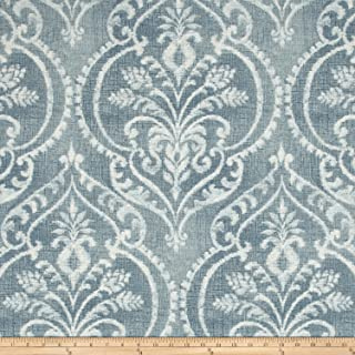Swavelle/Mill Creek Dalusio Damask Fabric, Chambray