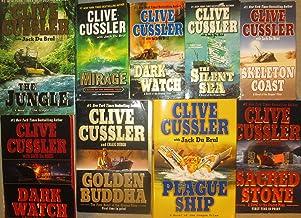 Clive Cussler Oregon Files Series 9 Novel Set