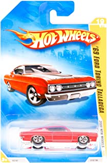 Hot Wheels 2008 New Models Red '69 Ford Torino Talladega w/ 5SPs #019 (19 of 40) 1:64 Scale