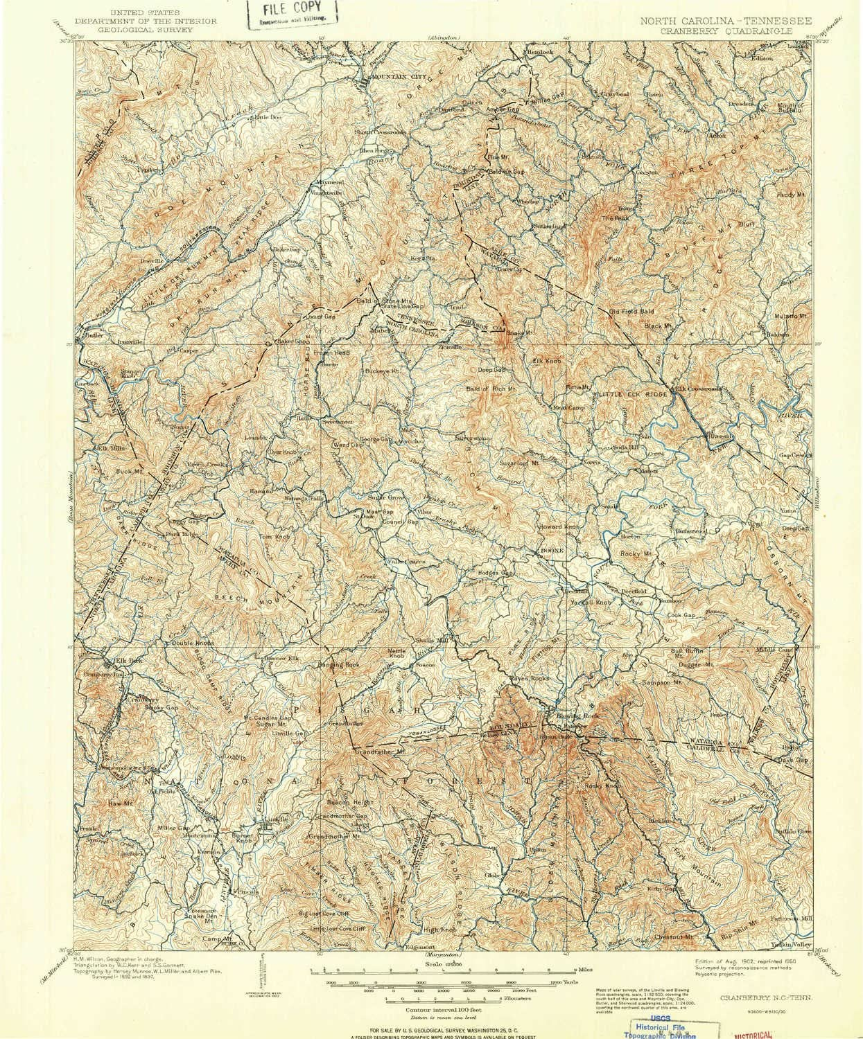 YellowMaps Cranberry NC topo map 1:125000 30 Scale X Minute OFFicial store free shipping