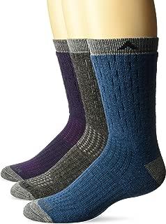Wigwam Montane Women's Wool Blend Outdoor Crew Socks 3-Pack