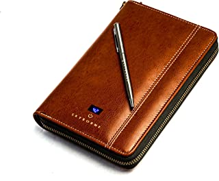 Skyborne: iTravel Smart Wallet (2 Passports, 4-8 cards, passes, built-in Qi power-bank, pen & more)