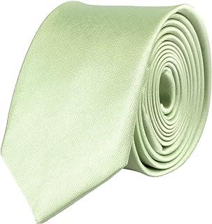 /acabado a mano Rojo Verde. Negro Blanco Corbata o pa/ñuelo estrecha para Hombre//Mujer 5/cm/