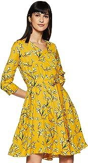 Miss Olive Women's Wrap Knee-Long Dress