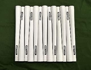 13 Pure Pro Golf Grips - Standard - White - Includes Free Brampton Grip Kit